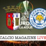 Sporting Braga Leicester cronaca diretta live risultato in tempo reale