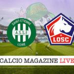 St Etienne Lilla cronaca diretta live risultato in tempo reale