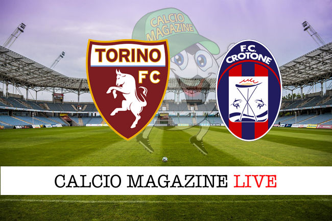 Torino Crotone cronaca diretta live risultato in tempo reale