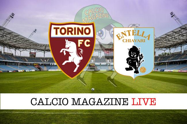 Torino Virtus Entella cronaca diretta live risultato in tempo reale