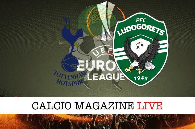 Tottenham Ludogorets cronaca diretta live risultato in tempo reale