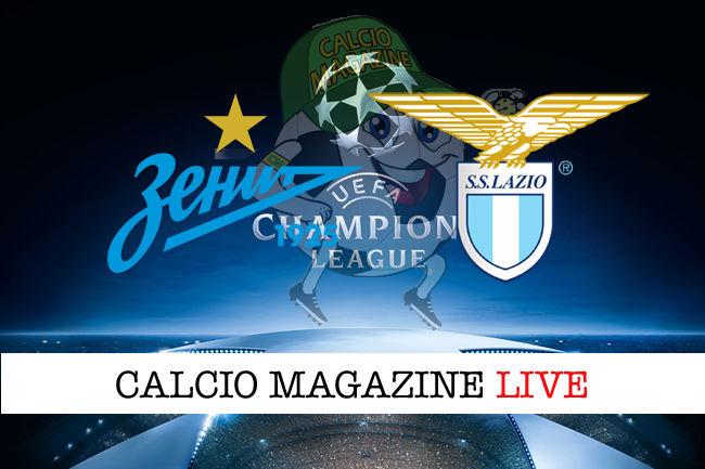 Zenit Lazio cronaca diretta live risultato in tempo reale