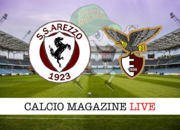 Arezzo Fano cronaca diretta live risultato in tempo reale