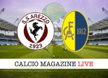 Arezzo Modena cronaca diretta live risultato in tempo reale