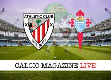 Athletic Bilbao Celta Vigo cronaca diretta live risultato in tempo reale