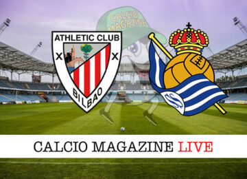Athletic Bilbao Real Sociedad cronaca diretta live risultato in tempo reale