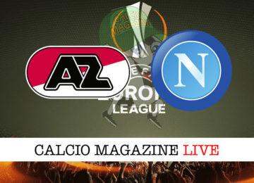 AZ Alkmaar Napoli cronaca diretta live risultato in tempo reale