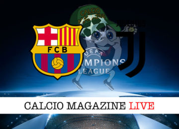 Barcellona Juventus cronaca diretta live risultato in tempo reale