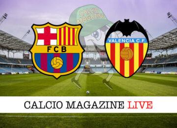 Barcellona Valencia cronaca diretta live risultato in tempo reale