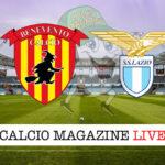 Benevento Lazio cronaca diretta live risultato in tempo reale