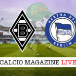 Borussia Monchengladbach Hertha Berlino cronaca diretta live risultato in tempo reale