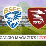 Brescia Salernitana cronaca diretta live risultato in tempo reale