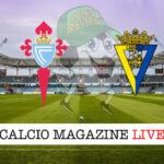 Celta Vigo Cadice cronaca diretta live risultato in tempo reale