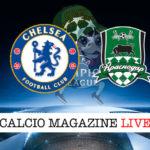 Chelsea Krasnodar cronaca diretta live risultato in tempo reale