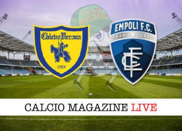 Chievo Empoli cronaca diretta live risultato in tempo reale