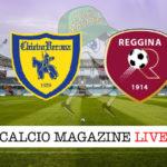 Chievo Reggina cronaca diretta live risultato in tempo reale