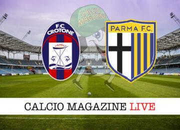 Crotone Parma cronaca diretta live risultato in tempo reale
