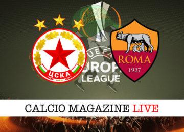 CSAK Sofia Roma cronaca diretta live risultato in tempo reale