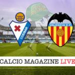 Eibar Valencia cronaca diretta live risultato in tempo reale