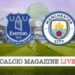 Everton Manchester City cronaca diretta live risultato in tempo reale