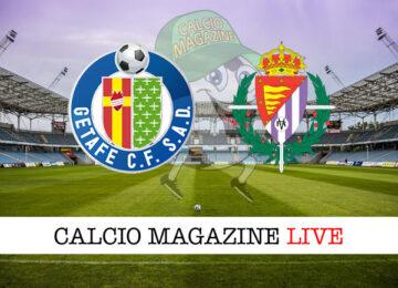 Getafe Valladolid cronaca diretta live risultato in tempo reale