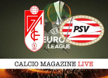 Granada PSV Eiindhoven cronaca diretta live risultato in tempo reale