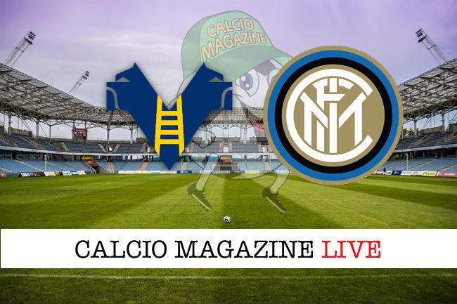 Hellas Verona Inter cronaca diretta live risultato in tempo reale