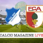 Hoffenheim Augusta cronaca diretta live risultato in tempo reale