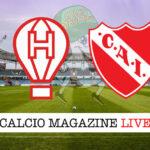 Huracan Independiente cronaca diretta live risultato in tempo reale