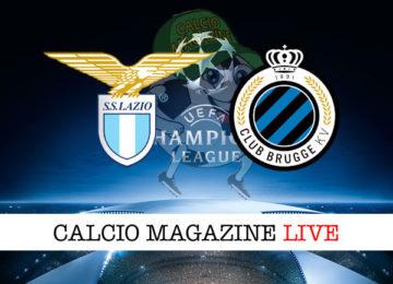 Lazio Club Brugge cronaca diretta live risultato in tempo reale