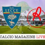 Lecce Vicenza cronaca diretta live risultato in tempo reale