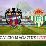 Levante Real Betis cronaca diretta live risultato in tempo reale