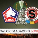 Lille Sparta Praga cronaca diretta live risultato in tempo reale
