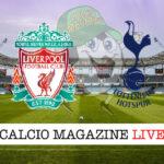 Liverpool Tottenham cronaca diretta live risultato in tempo reale