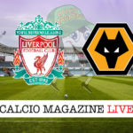 Liverpool Wolverhampton cronaca diretta live risultato in tempo reale