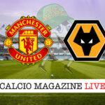 Manchester United Wolverhampton cronaca diretta live risultato in tempo reale