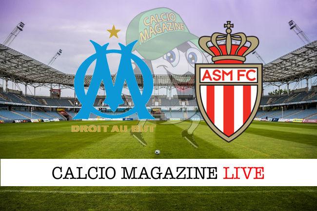 Marsiglia Monaco cronaca diretta live risultato in tempo reale
