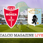 Monza Virtus Entella cronaca diretta live risultato in tempo reale