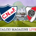 Nacional River Plate cronaca diretta live risultato in tempo reale