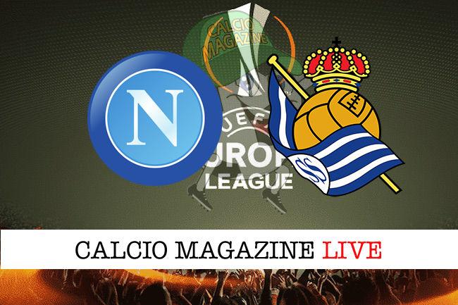 Napoli Real Sociedad cronaca diretta live risultato in tempo reale