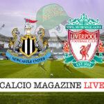 Newcastle Liverpool cronaca diretta live risultato in tempo reale