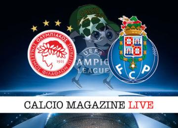 Olympiakos Porto cronaca diretta live risultato in tempo reale