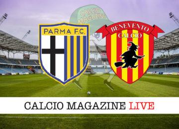 Parma Benevento cronaca diretta live risultato in tempo reale