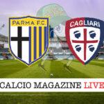 Parma Cagliari cronaca diretta live risultato in tempo reale
