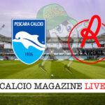 Pescara Vicenza cronaca diretta live risultato in tempo reale
