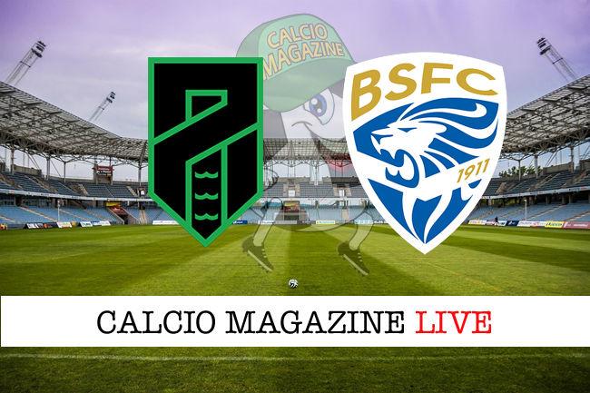 Pordenone Brescia cronaca diretta live risultato in tempo reale