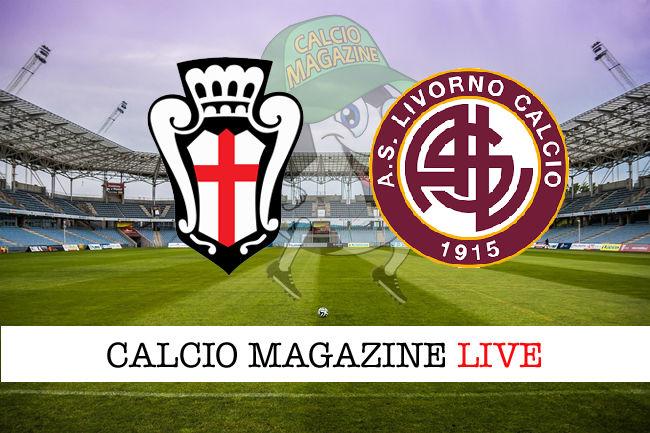 Pro Vercelli Livorno cronaca diretta live risultato in tempo reale