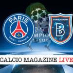 PSG Basaksehir cronaca diretta live risultato in tempo reale