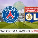 PSG Lione cronaca diretta live risultato in tempo reale