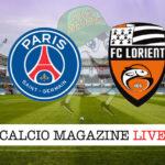 PSG Lorient cronaca diretta live risultato in tempo reale